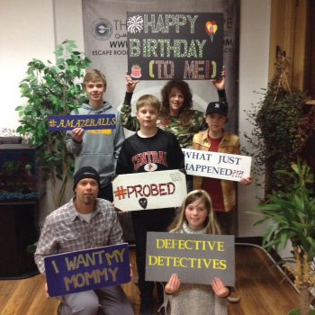 LaCrosse Escape Room Customers at Great Escape of LaCrosse