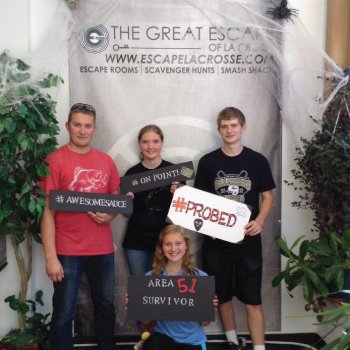 More Great Escape of LaCrosse Customers